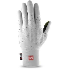 Compressport 3D Thermo Seamless Running Gloves White/Black